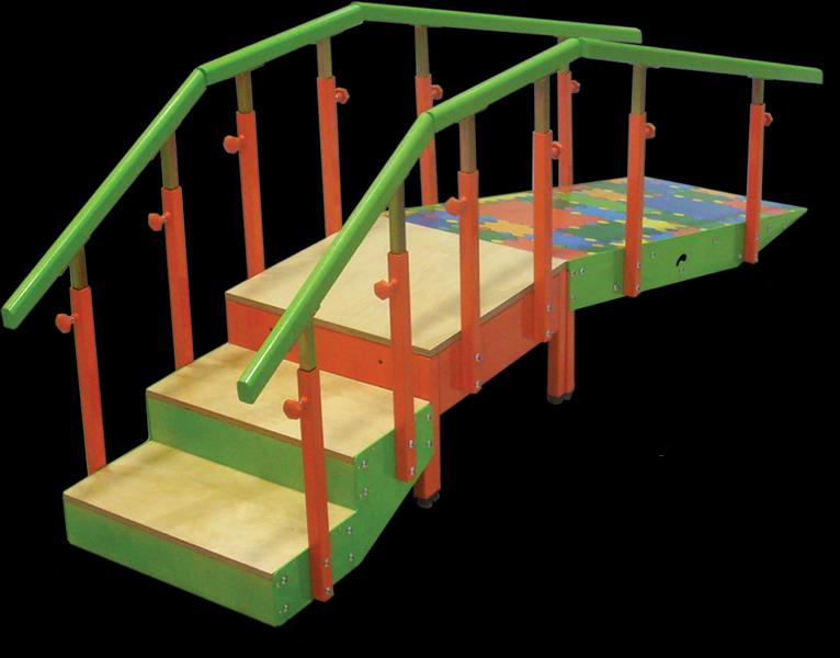 Escalera infantil con medidas