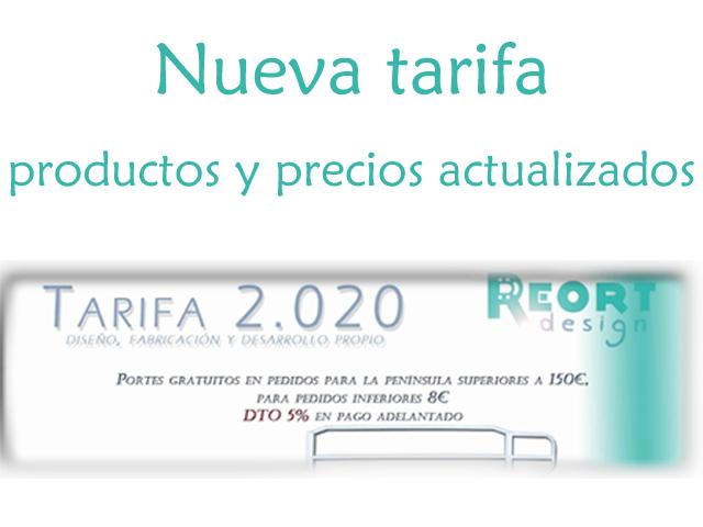 REORT -  Tarifa 2.017 - Fabricación de equipos mecánicos para terapia tradicional y funcional. Líneas de adulto y pediátricas