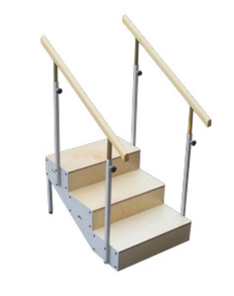 Mod pelda os para escalera con rampa met lica cuatro for Altura pasamanos escalera